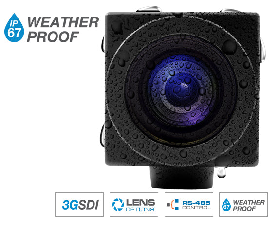Marshal Electronics CV503-WP Weather Proof Miniature Camera SDI
