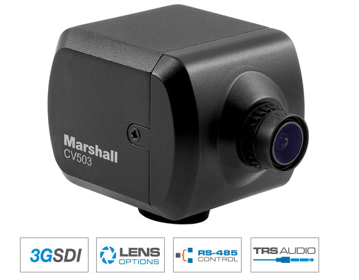 Marshall CV503 Miniature Full-HD SDI Camera