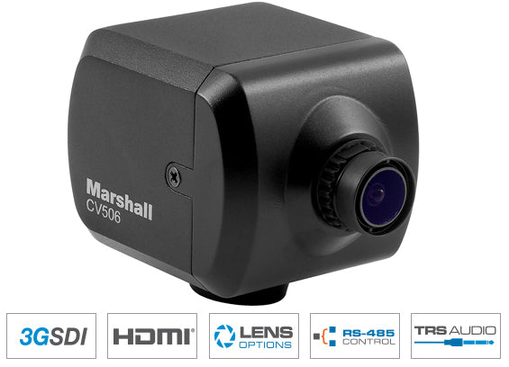 Marshall Electronics CV506 Miniature Full-HD Camera HDMI & SDI