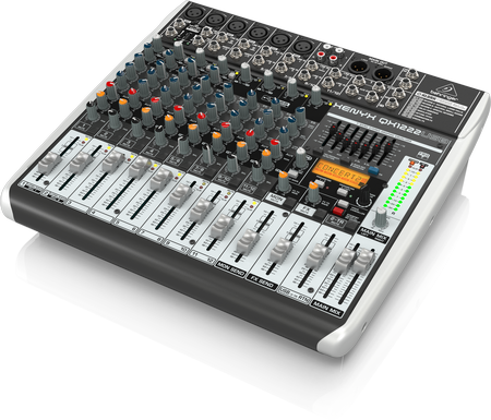 Behringer QX1222USB 16ch Analog Mixer with USB Interface