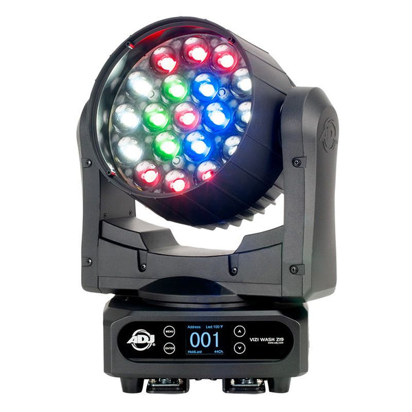 American DJ VIZI WASH Z19 DMX Moving Head Fixture