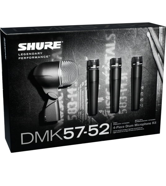 Shure DMK57-52 Drum Microphone Kit SM57 Beta52