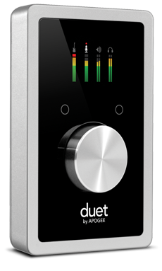 Apogee Duett 2 IN x 4 OUT USB Audio Interface for Mac and PC