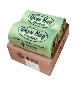 65 Gallon Heavy Duty Green Bags (90 Count)
