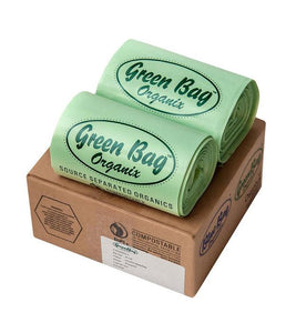 13 Gallon Heavy Duty Green Bags (60 Count)