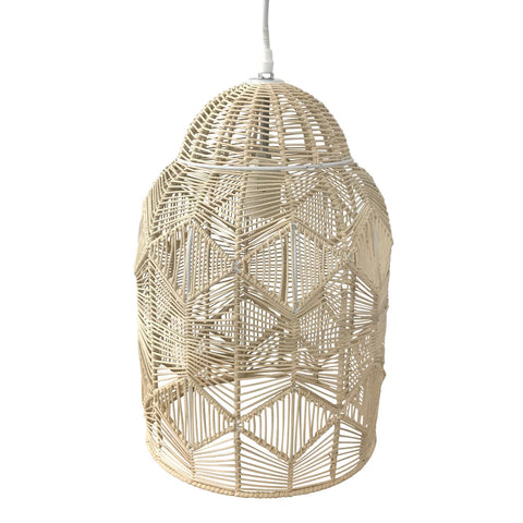 Natural Lace Pendant Light - Small Set of 2