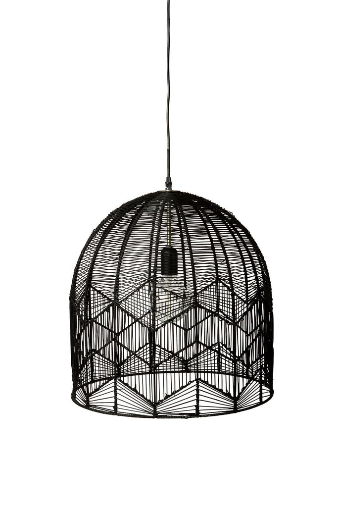 Black Lace Pendant Light - Large