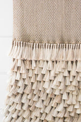 Jumbo Wall Hanging - Jute Tassels - MINT Interior Design