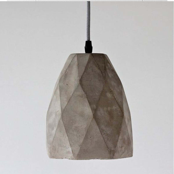 Geo Concrete Pendant - MINT Interior Design