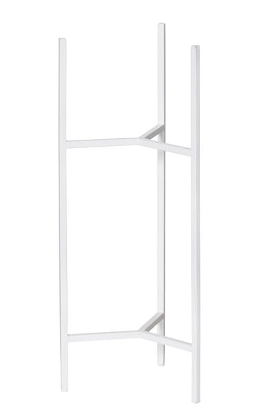 White Plant Stand