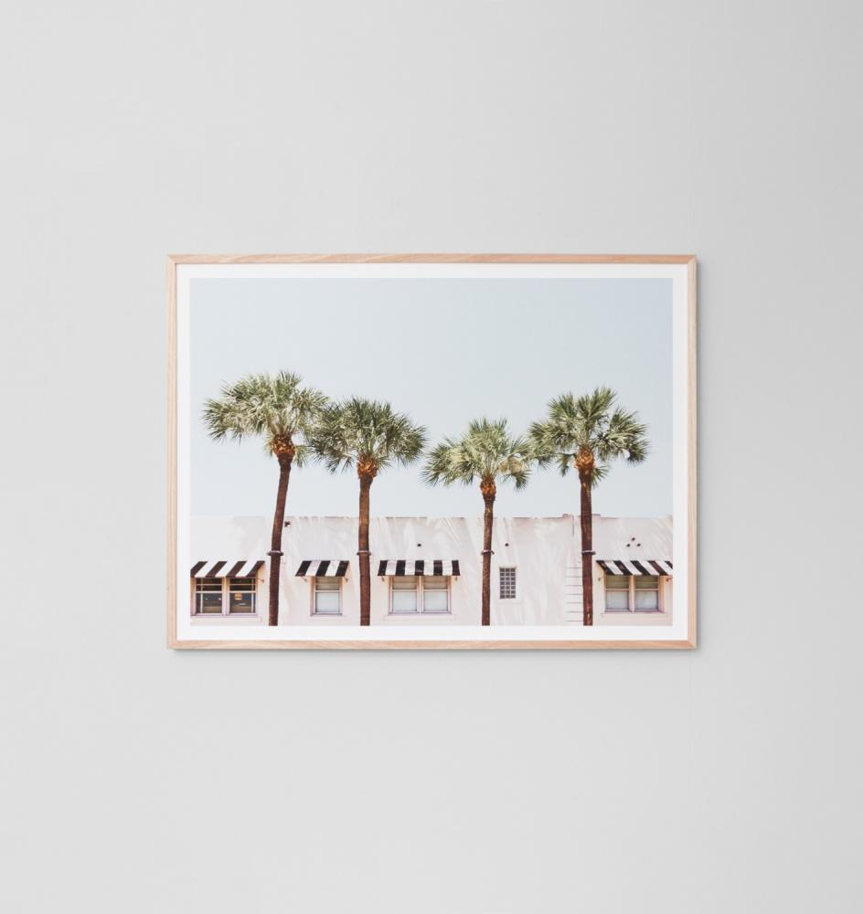 Vacation Print - White Frame