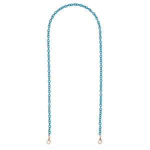 Teal Mask Chain