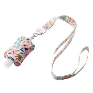 Floral Sanitizer Holder Necklace