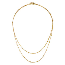 Load image into Gallery viewer, Golden Circle Pre-Layered Versatile Necklace