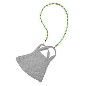 Neon Green Cord Mask Chain