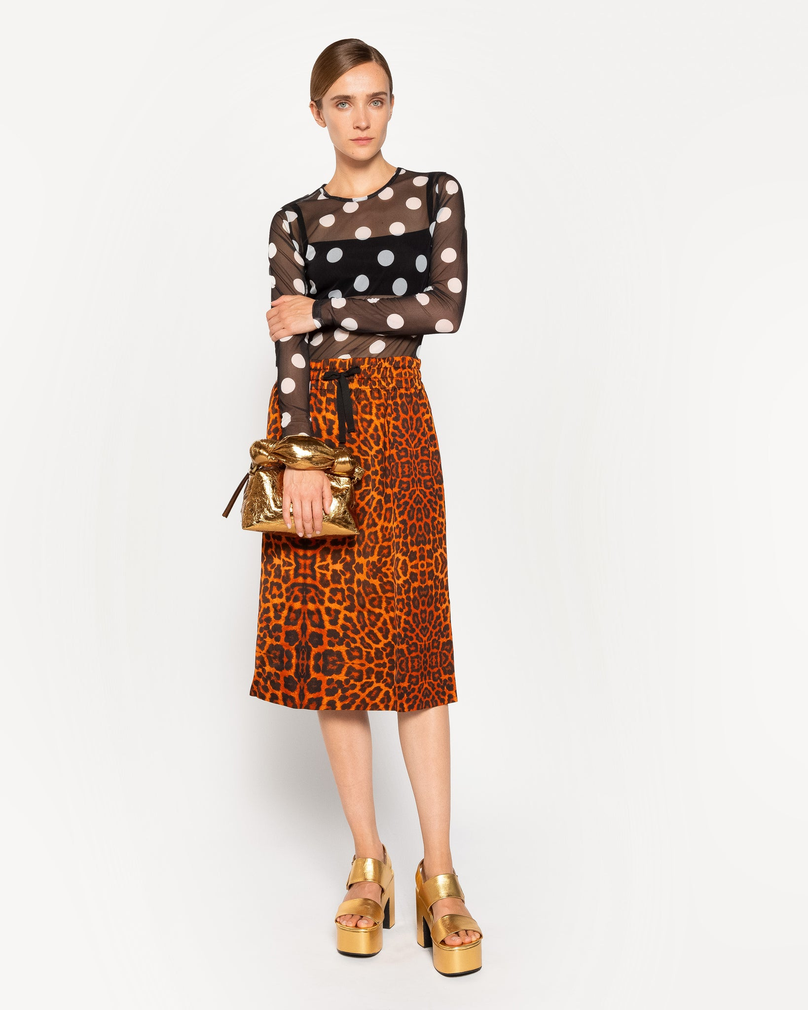 SOLIDOS pencil skirt