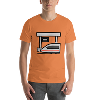 Emoji T-Shirt Store | Station emoji t-shirt in Orange