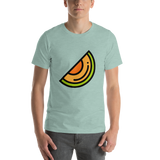 Emoji T-Shirt Store | Melon emoji t-shirt in Green