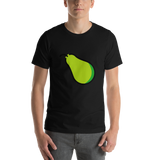 Emoji T-Shirt Store | Pear emoji t-shirt in Black