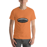 Emoji T-Shirt Store | Hole emoji t-shirt in Orange