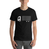 Emoji T-Shirt Store | Articulated Lorry emoji t-shirt in Black