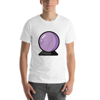 Emoji T-Shirt Store | Crystal Ball emoji t-shirt in White
