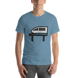 Emoji T-Shirt Store | Monorail emoji t-shirt in Blue
