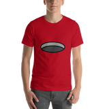 Emoji T-Shirt Store | Hole emoji t-shirt in Red