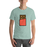 Emoji T-Shirt Store | Chocolate Bar emoji t-shirt in Green