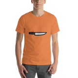 Emoji T-Shirt Store | Kitchen Knife emoji t-shirt in Orange