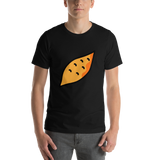 Emoji T-Shirt Store | Roasted Sweet Potato emoji t-shirt in Black