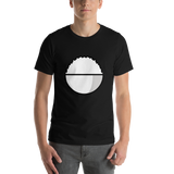Emoji T-Shirt Store | Cooked Rice emoji t-shirt in Black