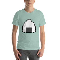 Emoji T-Shirt Store | Rice Ball emoji t-shirt in Green
