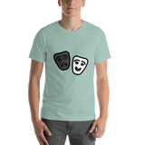 Emoji T-Shirt Store | Performing Arts emoji t-shirt in Green