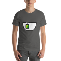 Emoji T-Shirt Store | Teacup Without Handle emoji t-shirt in Dark gray