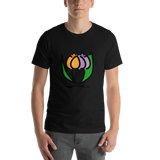 Emoji T-Shirt Store | Bouquet emoji t-shirt in Black
