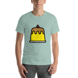 Emoji T-Shirt Store | Custard emoji t-shirt in Green