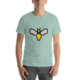 Emoji T-Shirt Store | Honeybee emoji t-shirt in Green
