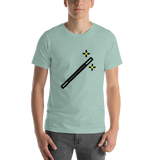 Emoji T-Shirt Store | Magic Wand emoji t-shirt in Green