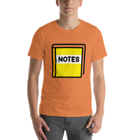Emoji T-Shirt Store | Notebook With Decorative Cover emoji t-shirt in Orange