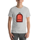 Emoji T-Shirt Store | Backpack emoji t-shirt in Light gray