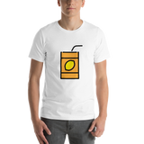 Emoji T-Shirt Store | Beverage Box emoji t-shirt in White