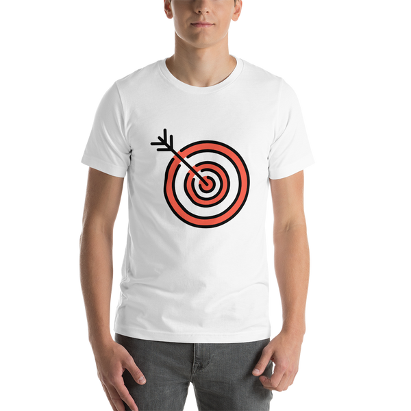 Emoji T-Shirt Store | Direct Hit emoji t-shirt in White