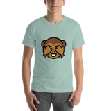 Emoji T-Shirt Store | See-No-Evil Monkey emoji t-shirt in Green