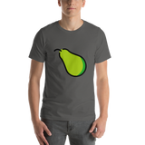 Emoji T-Shirt Store | Pear emoji t-shirt in Dark gray