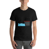 Emoji T-Shirt Store | Ferry emoji t-shirt in Black