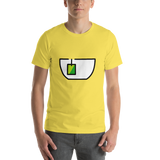 Emoji T-Shirt Store | Teacup Without Handle emoji t-shirt in Yellow