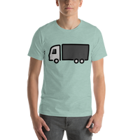 Emoji T-Shirt Store | Articulated Lorry emoji t-shirt in Green