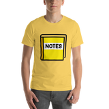 Emoji T-Shirt Store | Notebook With Decorative Cover emoji t-shirt in Yellow