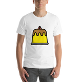 Emoji T-Shirt Store | Custard emoji t-shirt in White